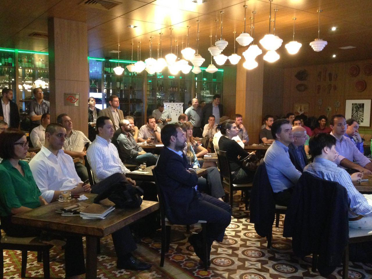 Mais de 70 pessoas participaram do Tempest Talks SP