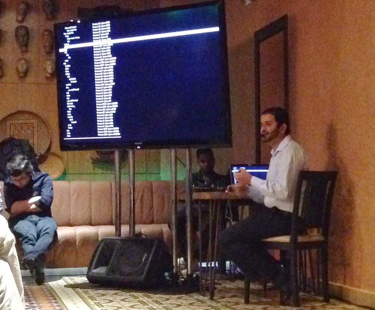 Rafael Silva apresentou palestra sobre arquivos pcap